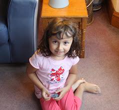 Photo: Aaliya at play.