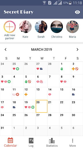 Download Sex Life - Sex Tracker, Diary of Sex, Sex Calendar 1.0.3 1