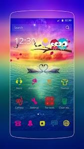 Love Swan Colorful Lake screenshot 0