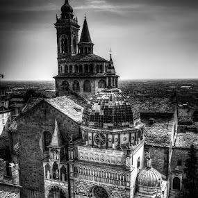 by Celestyx Celestyx - Buildings & Architecture Places of Worship ( black and white, pwcbuilding )