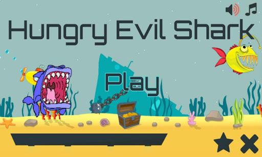Hungry Evil Shark