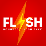 Flash rounded icon pack HD 1.4.6