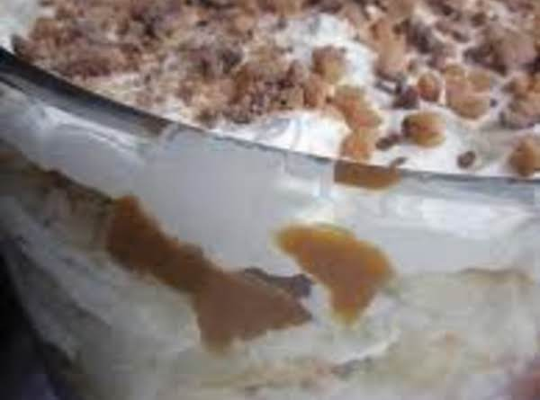Peanut Brittle Trifle