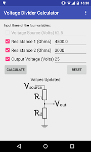 Easy Voltage Divider Calculate screenshot 4