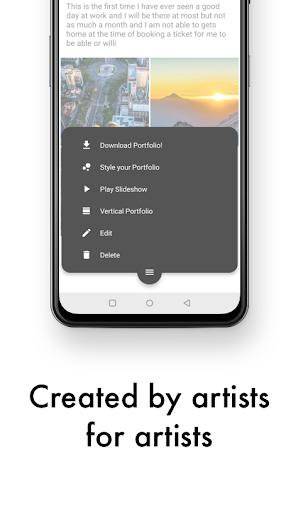 Art Portfolio: Create and download your portfolios screenshot 5