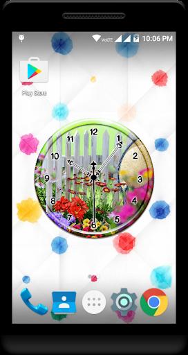 Garden Clock Live Wallpaper  screenshots 4