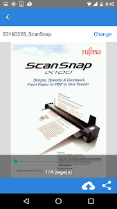 ScanSnap Cloud screenshot 5