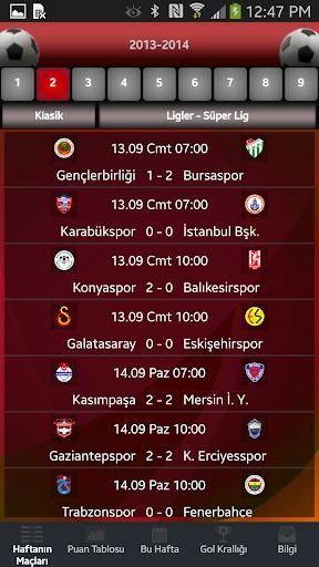 Futbol - Süper Lig 3.1.17 screenshots 1