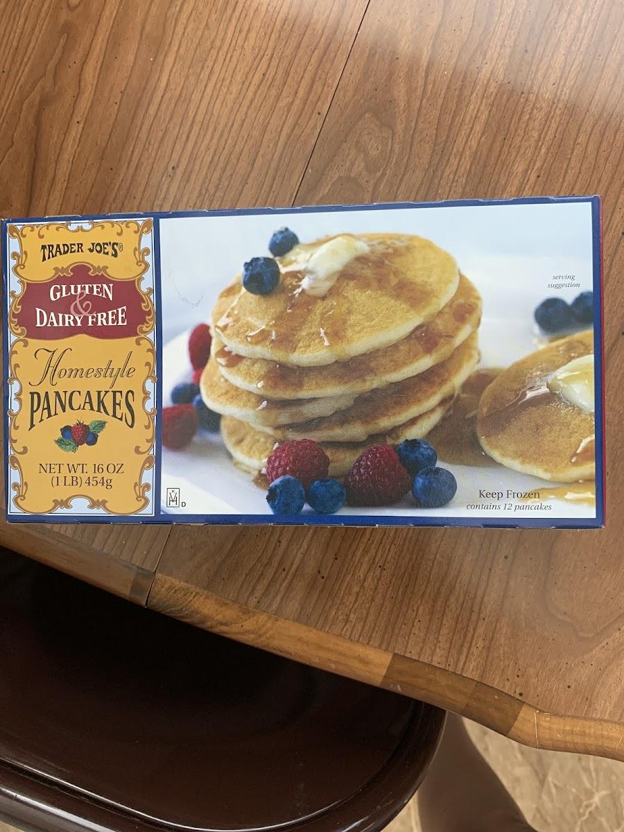 Gluten & Dairy Free Homestyle Pancakes