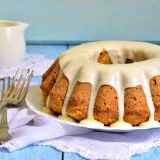 Healthy Carrot Cake with Bran.