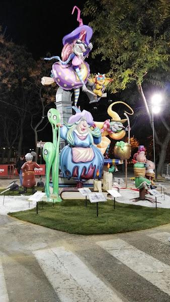 Enrique y Mario Cardells artistas falleros 2019 de Alcacer-Yatova