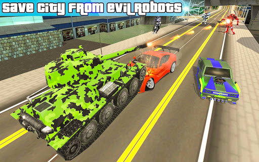 US Army Robot Transformation Jet Robo Car Tank War 1.0.4 screenshots 7