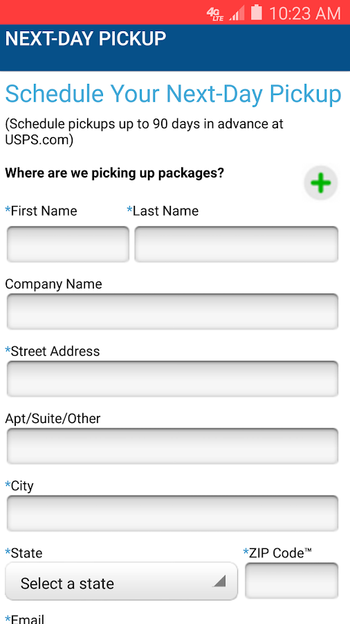 USPS MOBILE®- screenshot