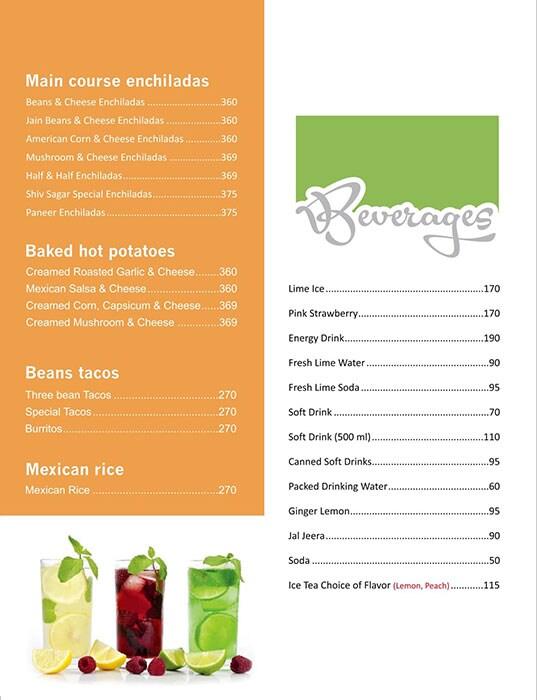 Shiv Sagar menu 10