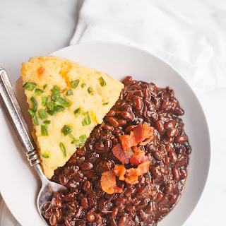 Slow Cooker Bacon Brown Sugar Baked Beans Recipe