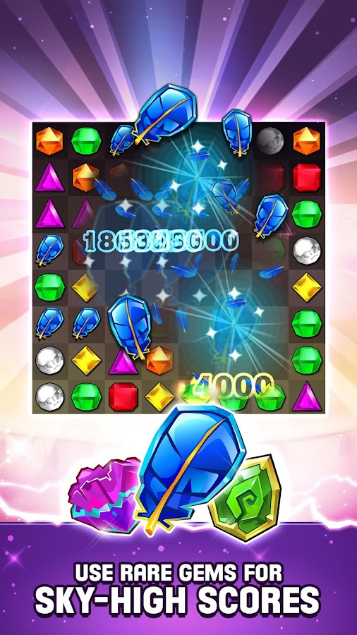 Screenshots of Bejeweled Blitz for iPhone