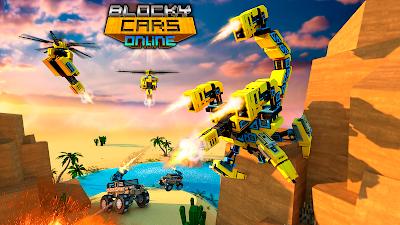 Blocky Cars Online Shooting Games V717
