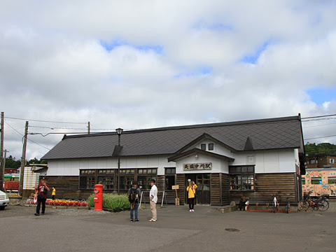 JR北海道 観光列車「風っこそうや」 天塩中川駅_01