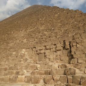 The Pyramid by Nishtha C - Buildings & Architecture Public & Historical ( #egypt, #brown, #bricks, #pyramid, #architecturalwonder )