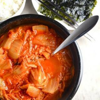 Kimchi Tuna Soup