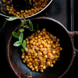 Tempered Breakfast chickpeas(Sri Lankan)..