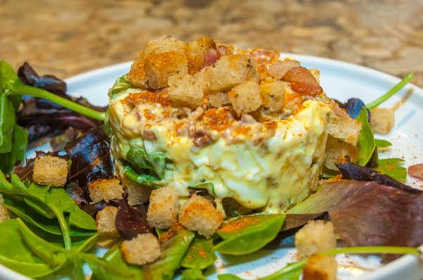 Egg Essentials: Egg Salad Tower On Rye Recipe