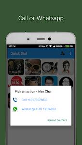 Quick Dial screenshot 1