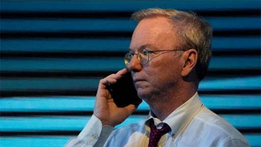 The US National Security Commission on Artificial Intelligence is led by former Google chairman Eric Schmidt.