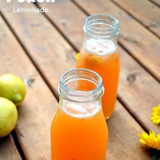 Peach Lemonade - A Summer Cooler.
