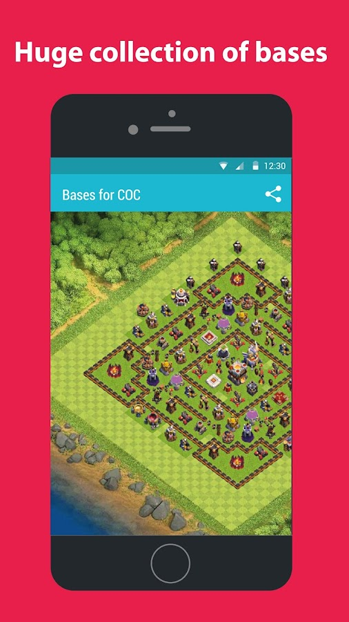 Maps for COC- screenshot