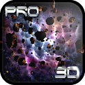 Asteroids 3D Live wallpaper icon