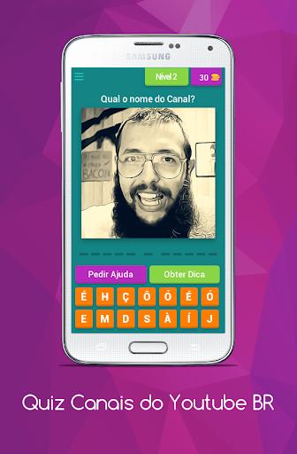 Quiz Canais Youtubers Brasil 8.5.1z screenshots 3
