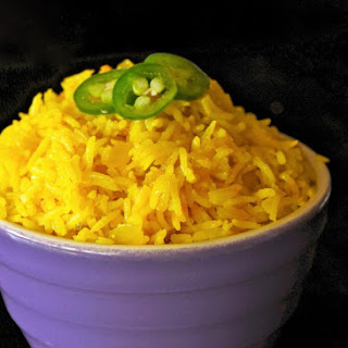 Spicy Turmeric-Coconut Basmait Rice