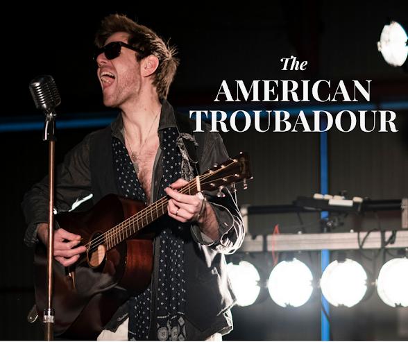 The American Troubadour  - trubadur