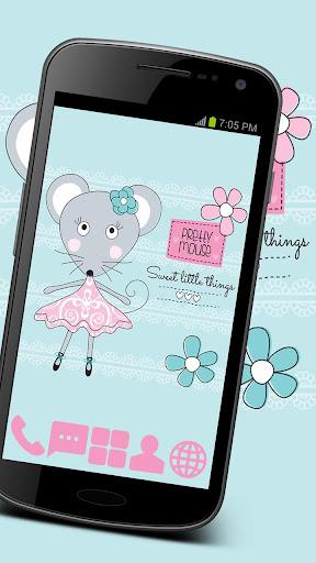 Pretty Mouse Theme GO ADW APEX