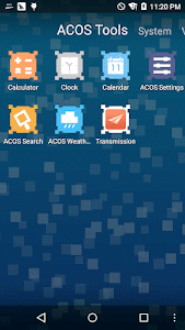 Pixel ACOS Theme screenshot 2