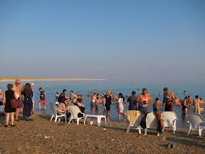 Photo: Dead sea beach
