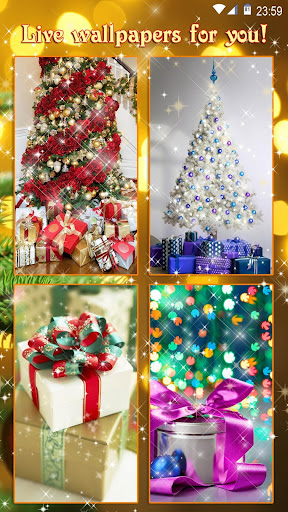 Christmas Gifts ud83cudf81 Live Wallpapers New Year 2.4 screenshots 6