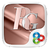 Rosegold GO Launcher Theme