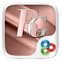 Rosegold GO Launcher Theme icon