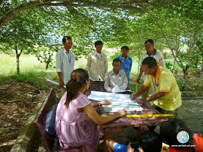 Photo: SmartFarmer's discussion- CFPAR for Kampong Speu province farmers , Lvea Village, Ang Popel commune, Korng Pisey district, Kampong speu province (10-12 Sep 2014)
