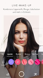 MakeupPlus - Makeup Kamera Screenshot