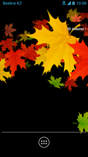3D Autumn Maple Leaves Free