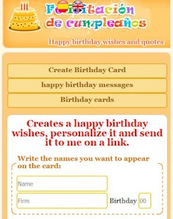Happy birthday with name- screenshot thumbnail