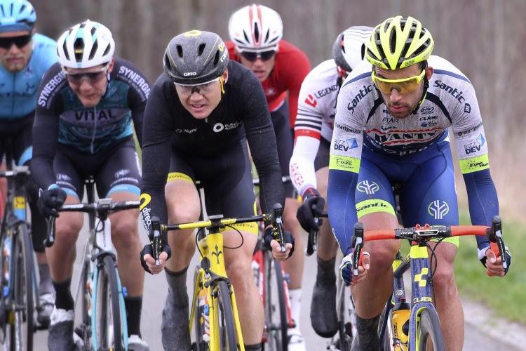 """Belg van Wanty-Gobert kleurde mee Kuurne-Brussel-Kuurne: """"Belangrijk om in deze koersen in de kijker te rijden"""""""