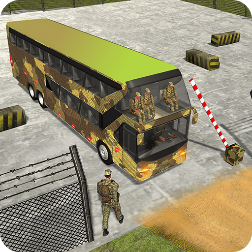 US Army Bus Driving - Military Transporter Squad
