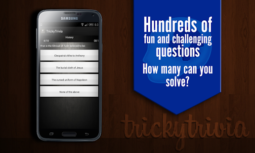 TrickyTrivia - GK Quiz 2016- screenshot thumbnail