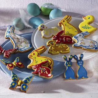 Easter Animal Cookies