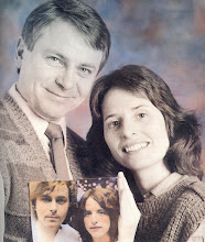 Photo: A twin portrait, from MplsStPaul magazine -- our 1991 portrait that contains out 1981 wedding pic