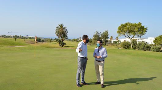 El campo municipal Alborán Golf logra en el año 2020 un total de 37.364 salidas